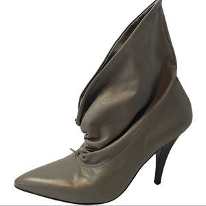 Report Signature Leather Ankle Boots Size 7.5